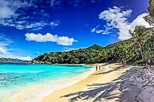 beaches on st john
