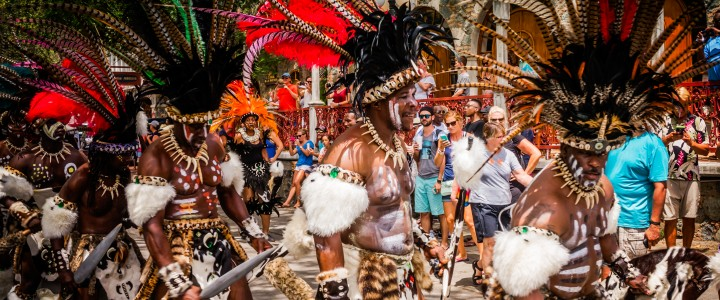 Get Ready for St. John Carnival.  It's still on for this year.  Read on to see what it's like!