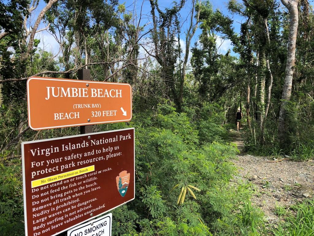 Jumbie Beach St John USVI